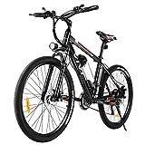 VIVI Bicicleta Eléctrica, 26' Bicicleta Eléctrica Bicicleta de Montaña Eléctrica para Adultos,...