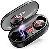 Wireless Earbuds, 2020 Upgraded 33H Playtime, Waterproof Bluetooth Headphones 5.0 with Charging...