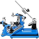 Ukiki Machine à Corder Bleu Tennis Tension de 4.08 à 40.82kg Machine à Corder Badminton Fixation...
