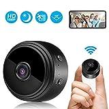 Mini Camera Espion, HD 1080P Portable Mini Camera WiFi Surveillance de la Sécurité à la Maison sans fil, Caméra Espion Minuscule Dissimulée avec Vision Nocturne, Détection de Mouvement, Vue à Distance
