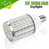 Ampoule de maïs de LED, Vaxiuja L'ampoule Lumière du Jour E27 Réverbère...