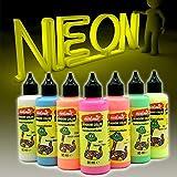 7X Neon Window Color Fenstermalfarben Farben Kreativ Glas Design Fenster