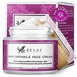 Crème visage anti-rides par Eclat – Formule anti-rides puissante à base...