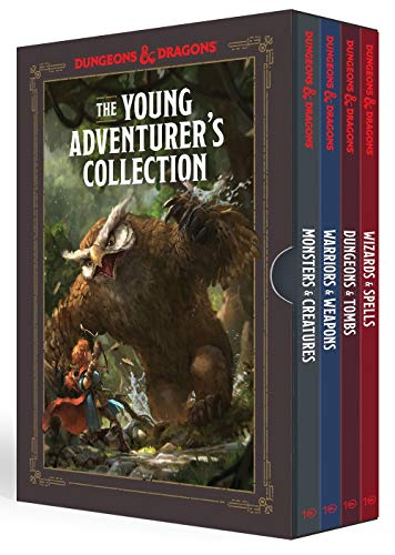The Young Adventurer's Collection [Dungeons & Dragons 4-Book...