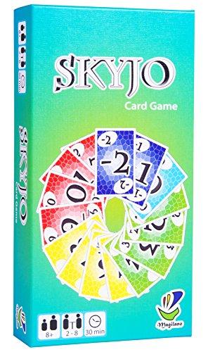 SKYJO, von Magilano - Das unterhaltsame Kartenspiel für Jung und Alt. Das ideale Geschenk für spaßige und amüsante Spieleabende im Freundes- und Familienkreis.