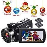 Caméscope 1080p 30FPS Appareil Photo Numérique Vlogging 24.0MP Camescope...