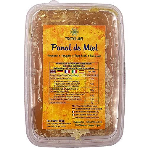 Panal de miel x 375 g - Miel panal de Mil Flores con aroma f