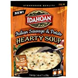 Idahoan Italian Sausage & Potato Hearty Soup, Made with Gluten-Free 100-Percent Idaho Potatoes, 7.1 oz Pouch (Pack of 8)
