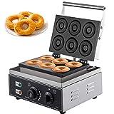 VEVOR Machine à Beignets Eletrique à 6 Trous Appareil à Donuts...