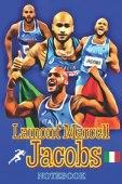 Marcell Jacobs - Notebook: Quaderno / taccuino per appunti dedicato al grande campione olimpico italiano.