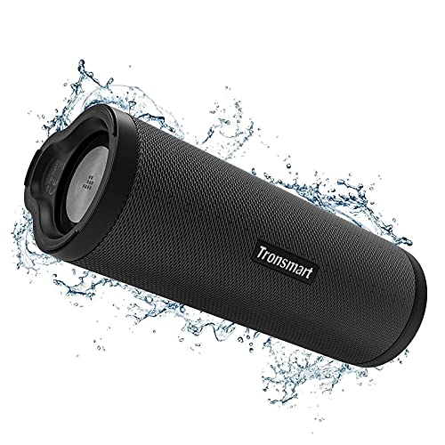 Tronsmart Force 2 Bluetooth Speaker Waterproof Portable Bluetooth Speakers Wireless,Outdoor Speakers Bluetooth with Bluetooth 5.0 and Speaker Loud,IPX7 Waterproof 30W Max Output-Black