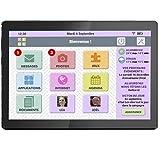 FACILOTAB Tablette L Rubis - WiFi - 32 Go - Android 9 - Marque Lenovo -...