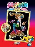 Sequin Art Kit de Loisirs Creatifs pour Les Enfants, Mia la Sirène, Créez Une...