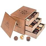 Coffret de chocolats « Chocogrande Ladies » | Chocolat | Coffret | Assortiment | Praliné | Cadeau | Offrir | Luxe | Premium | Boite | Femme | Homme | Saint Valentin | Pâques | Noel | Anniversaire