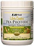Lifetime Life's Basics Pea Protein Powder, Natural Vanilla Flavor 1.2lb