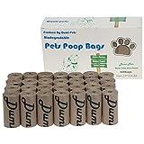 Dumi pets Lot de 420 sacs à déjections canines respectueux de la terre et...