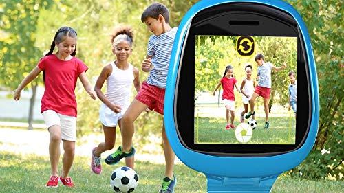 Image 8 - Little Tikes Montre connectée Robot Tobi pour les enfants, équipée d'une caméra digitale, d'une vidéo, de jeux & activités pour garçons et filles – Bleu. Dès 4 ans et +
