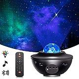 Star Projector,Galaxy Projector,Night Light Projector with LED Galaxy Ocean Wave Projector...