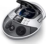 VENLOIC CD Player Boombox with USB Port, CD Player Portable Boombox with Radio, Portable CD Player with Speakers for Home