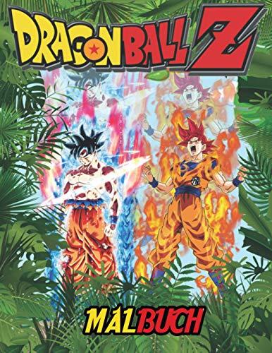 DRAGON BALL Z MALBUCH: Perfektes Geschenk für Fans von DRAGON BALL Z, mit mehr als 90 Bildern...