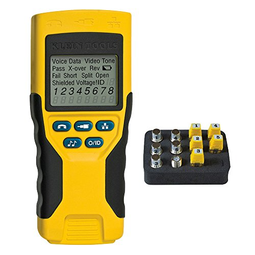 Klein Tools VDV501-823 Cable Tester, VDV Scout Pro 2 Traces and Tests Coax...