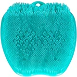 Sisliya Silicone Foot Massager Non-Slip Feet Massage Pad Bathroom Foot Cleaning Mat Scrubber Shower Feet Clean Promote Blood Circulation (Multi)