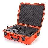 Nanuk DJI Drone Waterproof Hard Case with Custom Foam Insert for DJI Phantom 4/ Phantom 4 Pro (Pro+) / Advanced (Advanced+) & Phantom 3 - 945-DJI43 Orange