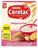 2 LOT X Nestle Cerelac Multi Grain 5 Fruits - Stage 4 - 12 Months + (300 g x 2)...