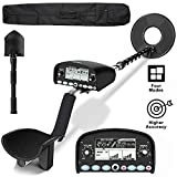 sakobs Professional Metal Detector [Disc & Notch & Pinpoint Modes] Metal Detector Waterproof with High Accuracy [Advanced DSP Chip] Metal Detectors for Adults
