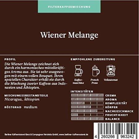 Berliner Kaffeerösterei Wiener Melange