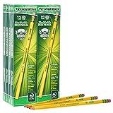 Lápices Dixon Ticonderoga en madera # 2, color amarillo Pack of 96