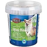 TRIXIE Bote Snack de Entrenamiento Mini Bones, 500 g, Perro