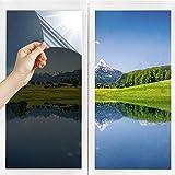 Film Miroir Fenêtre sans Tain Anti UV Anti Chaleur Anti-Regard Contrôle de la...