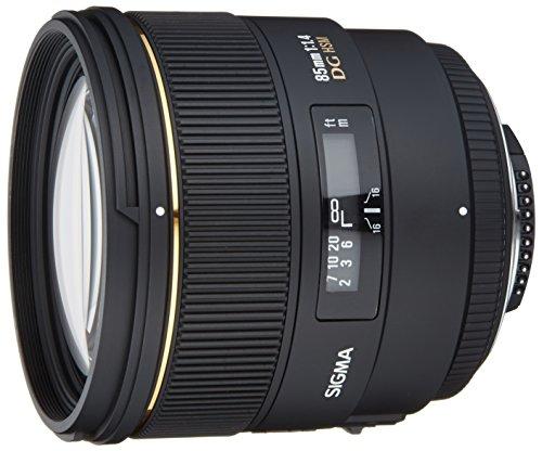 SIGMA 単焦点中望遠レンズ 85mm F1.4 EX DG HSM ニコン用 フルサイズ対応 320553
