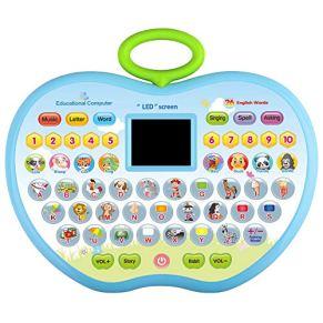 CITOY Versión en inglés Educación Aprendizaje Computadora Tableta Juguete para Niños Niña Niños