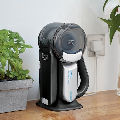 Product Image 9: BLACK+DECKER 20V Max Handheld Vacuum, Cordless, Grey (BDH2000PL)