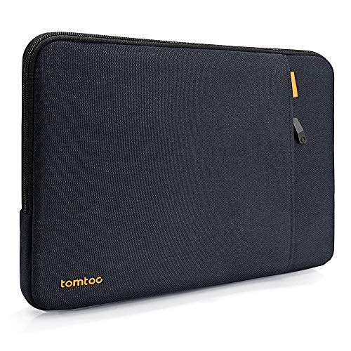 tomtoc 360 Protective Laptop Sleeve for 12.3 inch Microsoft Surface Pro X/7/6/5/4/3/2/1, New Dell XPS 13 Laptop 2020, Notebook Tablet Shockproof Bag Case with Accessory Pocket