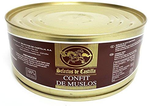 Selectos de Castilla - Muslos de Pato Confitados, 730gr