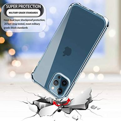 Luibor-compatible-with-iPhone-12-Pro-Screen-Protector3-Pack-compatible-with-iPhone-12-Pro-Case-compatible-with-iPhone-12-Pro-Camera-Lens-Protector-Shockproof-TPU-Case-Tempered-Glass-61