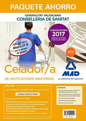 Paquete Ahorro Celador/a de Instituciones Sanitarias de la Conselleria de Sanitat de la Generalitat