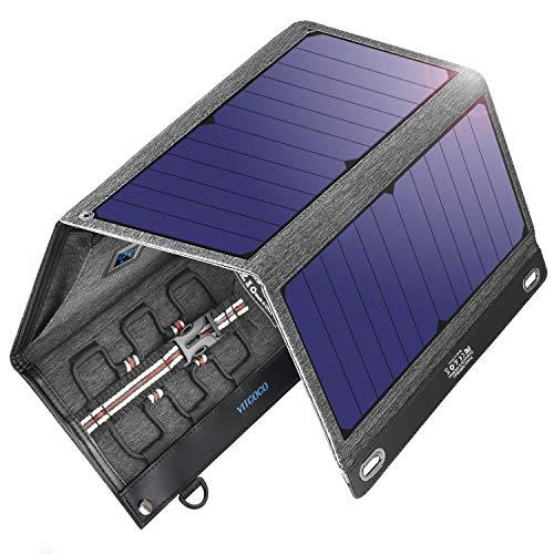 VITCOCO Caricabatterie Solare Portatile, 29W...