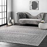 nuLOOM Moroccan Blythe Area Rug, 5' x 7' 5', Dark Grey