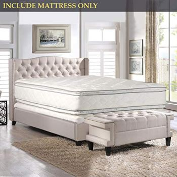 Nutan 12-Inch Medium Plush Double sided Pillowtop Innerspring Fully Assembled Mattress Good For The Back, Full