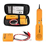 KAKSEY Power Probe Circuit Breaker Finder Wire Tracer Electrical Tester, Pro Automotive Short And Open Finder With Tone Generator And Probe, Cable Tracer With Clips & Rj11 Plug