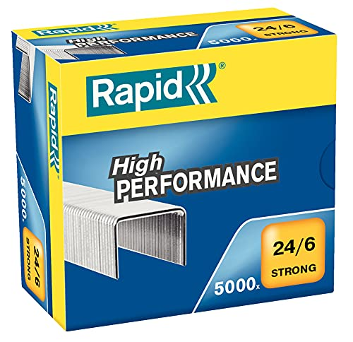 Rapid Cucitrice, 1000pezzi Strong 24/6 mm