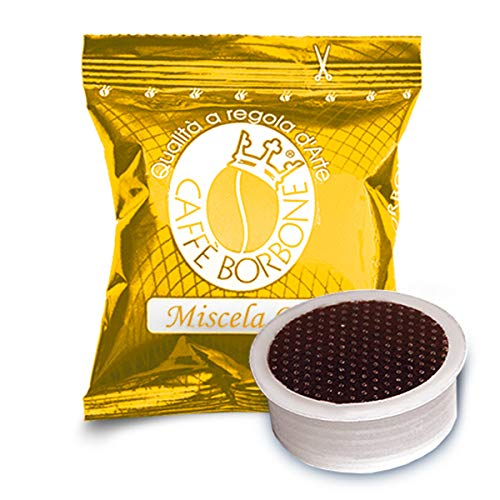 Caffè Borbone Capsula Miscela Oro – Confezione da 100 Capsule – Compatibili Lavazza* Espresso Point*