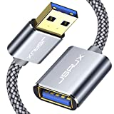 JSAUX Cable Rallonge USB 3.0 [2M] Câble Extension USB 3.0 Mâle A vers Femelle...