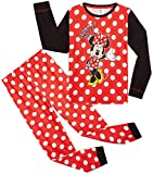 Disney Pijama Niña, Minnie Mouse Pijama Niña Invierno, Ropa para Niña...