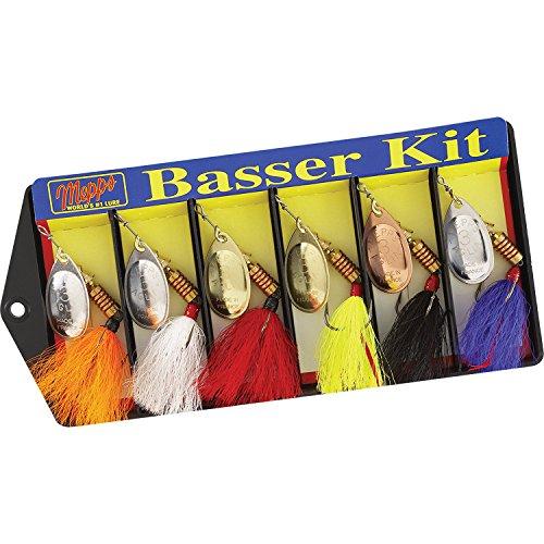 Mepps 500676#3 Aglia Assortment Dressed Basser Kit