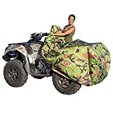XYZCTEM Waterproof ATV Cover, Heavy Duty Meterial Protects 4 Wheeler From Snow Rain or Sun, Large...